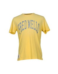 Fred Mello Topwear T Shirts Men