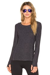 Beyond Yoga Light As A Feather Pullover Charcoal