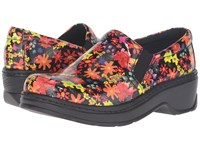 Klogs Footwear Naples Neon Daisy Women's Clog Shoes Orange