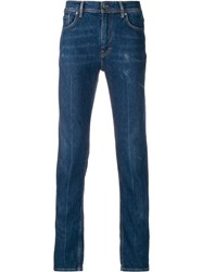 Acne Studios Skinny Fit Jeans Blue