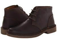 Dockers Tussock Red Brown Men's Lace Up Casual Shoes Mahogany