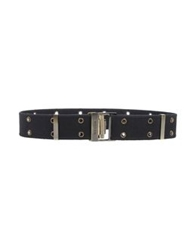 Hogan Belts Black