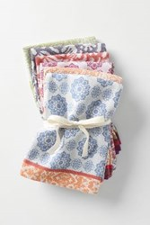 Anthropologie Nifty Napkin Set Multi