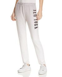 Wildfox Couture New York Sweatpants 100 Bloomingdale's Exclusive Grey