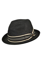 Men's Scala Braided Paper Fedora