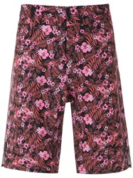 Amir Slama Foliage And Floral Print Swim Short 60