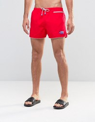 Oiler And Boiler Swim Shorts East Hampton Red