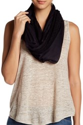 Melrose And Market Mixed Lace Loop Scarf Black