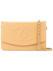Chanel Vintage Timeless Woc Nude And Neutrals