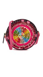 Olympia Le Tan The Kaleidoscope Messenger Bag Pink