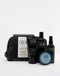 American Crew Essential Grooming Kit No Colour Clear