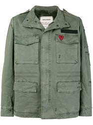Zadig And Voltaire Military Jacket Green