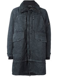 Stone Island Shadow Project Double Layer Parka Grey