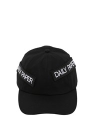 Daily Paper Cotton Baseball Cap W Patches