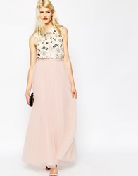 Needle And Thread Tulle Maxi Skirt Ballet Pink