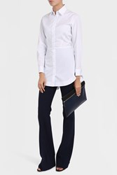 Alaia Women S Popeline Vienne Shirt Boutique1 White