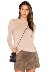 Inhabit Rib Cashmere Sweater Blush