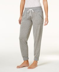 Tommy Hilfiger Jogger Pajama Pants Heather Grey