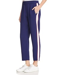 Whistles Side Stripe Jogger Pants 100 Exclusive Blue