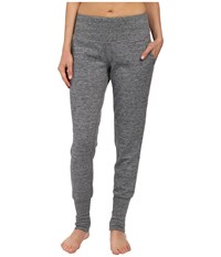 Brooks Joyride Pants Heather Black Asphalt Women's Casual Pants Gray