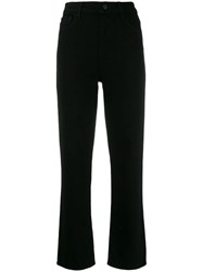 J Brand Jules Cropped Jeans Black