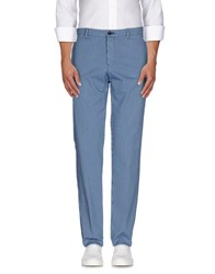 Tru Trussardi Trousers Casual Trousers Men Sky Blue