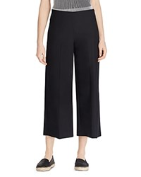 Ralph Lauren Wide Leg Crop Pants Black