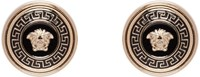 Versace Gold Enamel Medusa Earrings