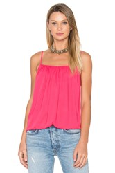 Amanda Uprichard Miley Cami Fuchsia