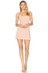 Commando Mini Cami Slip Beige