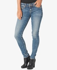 Silver Jeans Co. Aiko Indigo Blue Wash Super Skinny