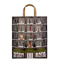 Harrods Elevators Large Shopper Bag Unisex