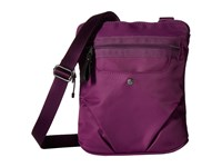 Baggallini Walkabout Crossbody Mulberry Cross Body Handbags Purple