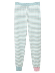 Joules Lou Stripe Pyjama Leggings Blue