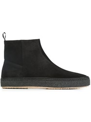 Paul Smith Ps By Side Zip Ankle Boots Black