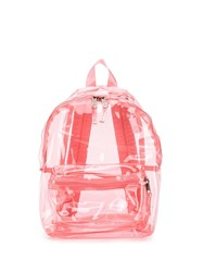Eastpak Clear Pink Backpack