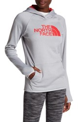 The North Face Hooded Logo Sweater Gray