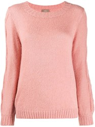 Altea Cable Knit Sweater Pink