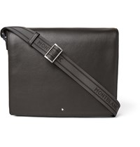 Montblanc Meisterstuck Full Grain Leather Messenger Bag Brown