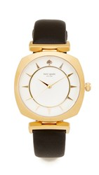 Kate Spade Barrow Watch Black Gold