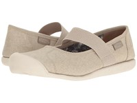 Keen Sienna Mj Canvas Feather Grey Women's Flat Shoes Gray