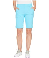 Puma Pounce Bermuda Shorts Blue Atoll Women's Shorts