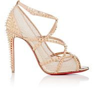 Christian Louboutin Women's Alarc Peep Toe Pumps Nude