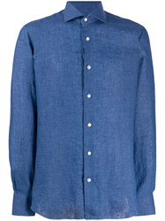 Barba Linen Long Sleeve Shirt 60