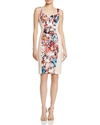 Black Halo Sadie Floral Panel Dress 100 Bloomingdale's Exclusive Happy Days Buttercream