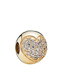 Pandora Design Pandora Charm 14K Gold And Cubic Zirconia Love Of My Life Moments Collection