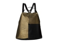 French Connection Tough Love Backpack Gold Backpack Bags