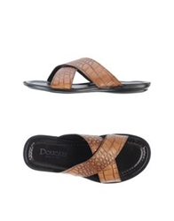 Doucal's Sandals Brown