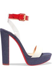 Christian Louboutin Cherry Pvc Dark Denim