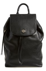 Tory Burch 'Brody' Leather Drawstring Backpack